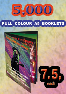 Booklet Printing : Special Offer